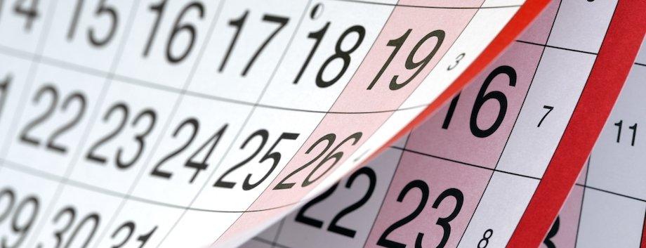 programme calendar